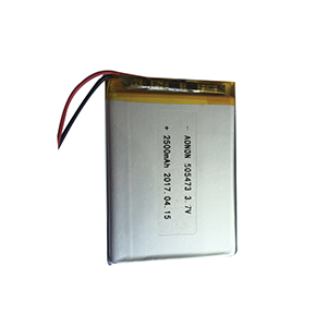 3.7V  505473-2500mAh wireless temperature sensor battery