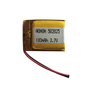 3.7V 180mAh 502025 Sleep instrument battery