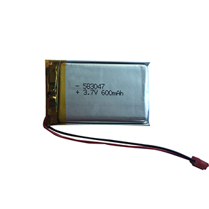 3.7V 600mAh 583047 mini projector battery