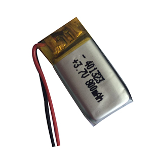 3.7V 800mAh 401323 bicycle taillight battery