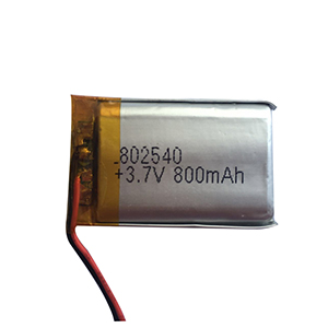 3.7V 800mAh 802540 POS machine battery