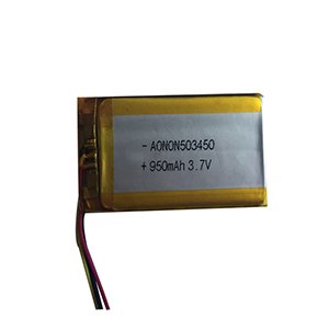 3.7V 900mAh 503450 air purifier battery