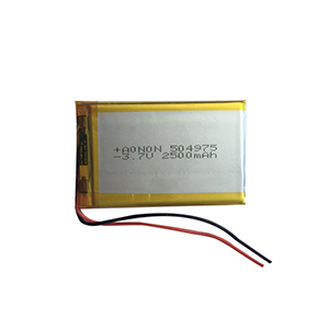3.7V 2500mAh 504975 LED lighting battery