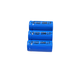 10220 100mAh 3.7V lighting equipment lithium battery