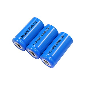 16340 600mAh 3.7V laser pen rechargeable battery