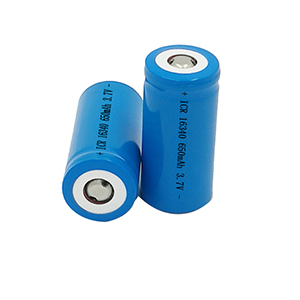 16340 650mAh 3.7V laser pen rechargeable battery