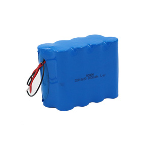 18650-7.4V-8000mAh Programmable robot battery