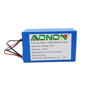 24V12Ah Food delivery robot battery
