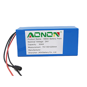 25.9V 30Ah Handling robot lithium battery pack