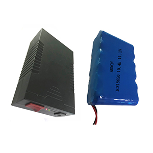 11.1V 10.4Ah LED backup power supply