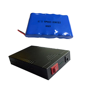 11.1V 5200mAh LED backup power supply
