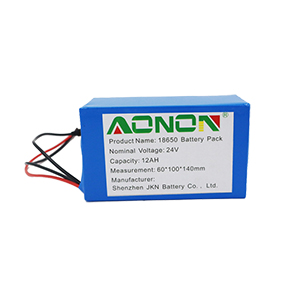 24V 12Ah energy storage battery pack