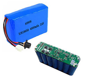 25.9V 4000mAh 18650-7S2P inverter backup power source