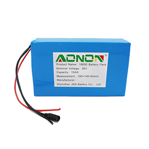 36V 15Ah energy storage battery pack