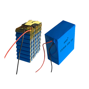 24V 16Ah 7S8P research device lithium battery pack