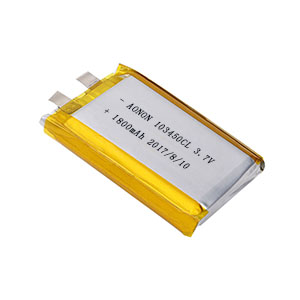 Low temperature lithium ploymer battery 103450CL 1800mAh