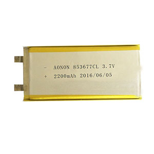 Low temperature lithium polymer battery 853677CL 2200mAh