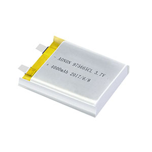 Low temperature lithium polymer battery 975665CL 4000mAh