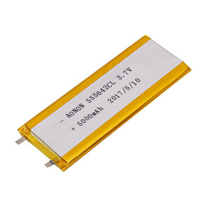 Low temperature lithium polymer battery 5556142CL 5000mAh