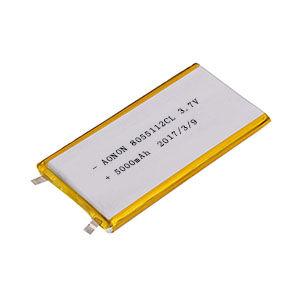 Low temperature lithium polymer battery 8055112CL 5000mAh