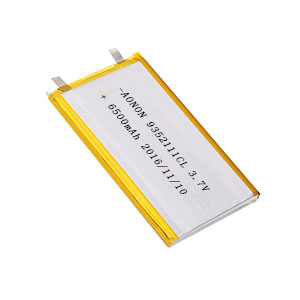 Low temperature lithium polymer battery 9352111CL 6500mAh