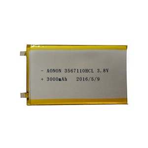 High voltage low temperature lithium polymer battery 3567110HCL 3000mAh