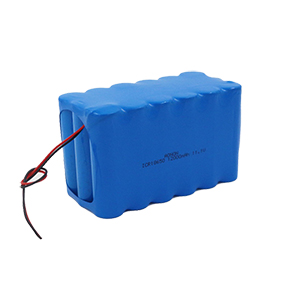11.1V 12Ah 3S6P police roadblock battery