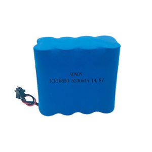 14.8V 5200mAh 4S2P military radio receiver battery