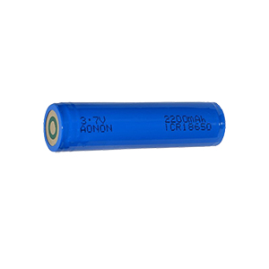 18650-3.7V-2200mAh Police explosion-proof flashlight battery