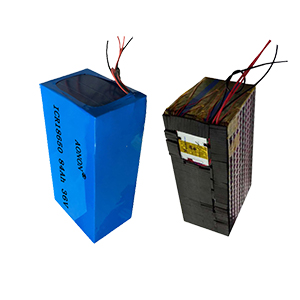 36V 84Ah 10S 42P e-tricycle battery pack