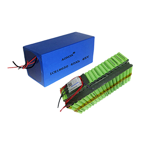 48V 40Ah 13S18P mini ev battery pack