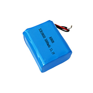 11.1V 5000mAh 3S2P smart lock battery