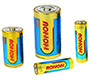 What are the characteristics of alkaline batteries?